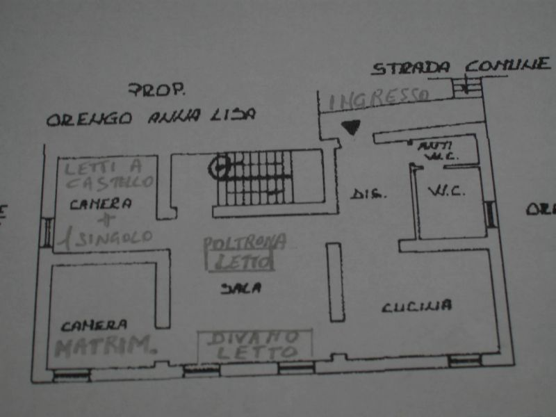 Property map Location Self-catering property 80918 Dolcedo