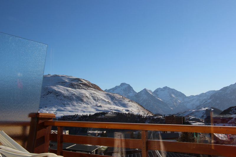 View from the balcony Location Apartment 89990 Alpe d'Huez