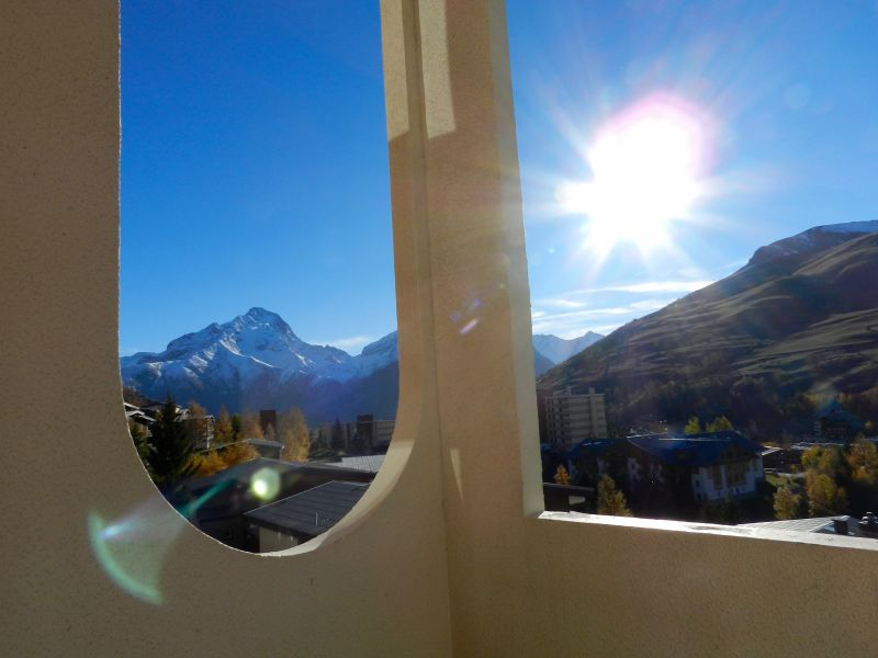 View from the balcony Location Apartment 101201 Les 2 Alpes
