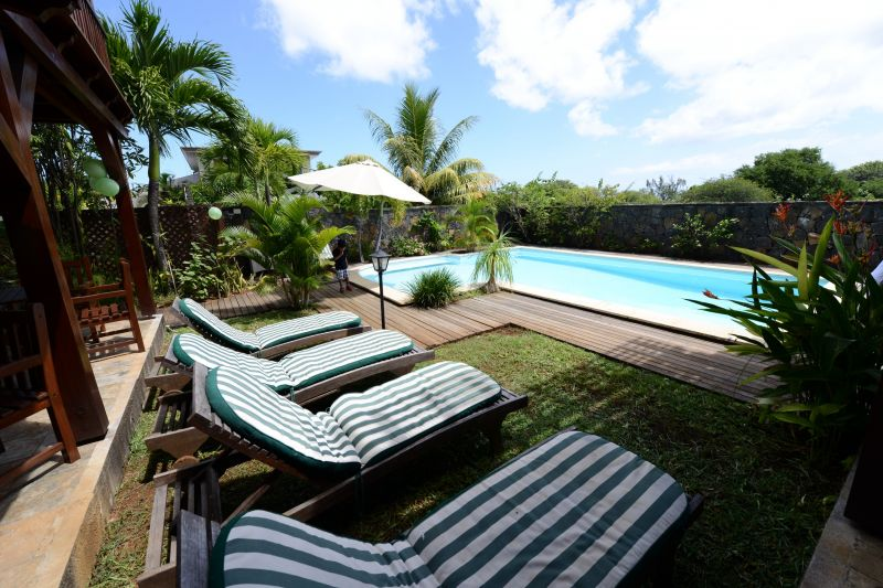 Swimming pool Location Villa 105203 Tamarin