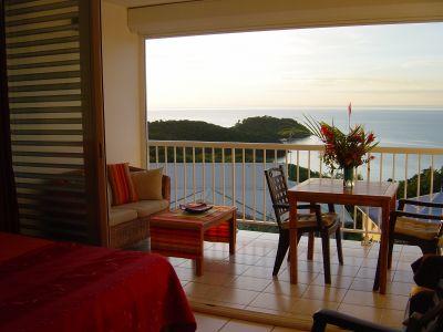 View from terrace Location Studio apartment 111190 Trois Ilets