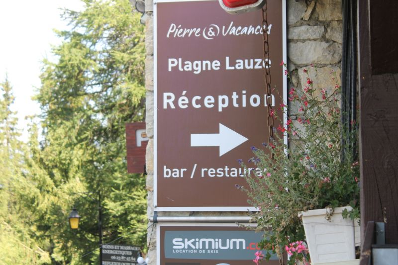 Area map Location Apartment 112637 La Plagne