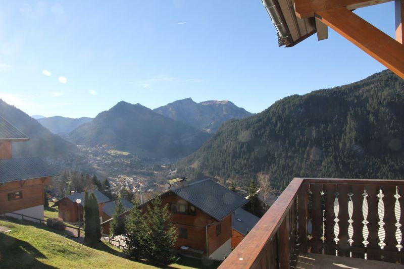 Terrace Location Chalet 117459 Châtel