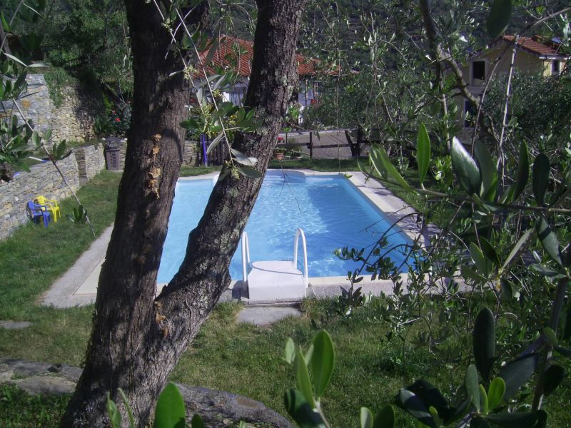Swimming pool Location Self-catering property 80842 Dolcedo