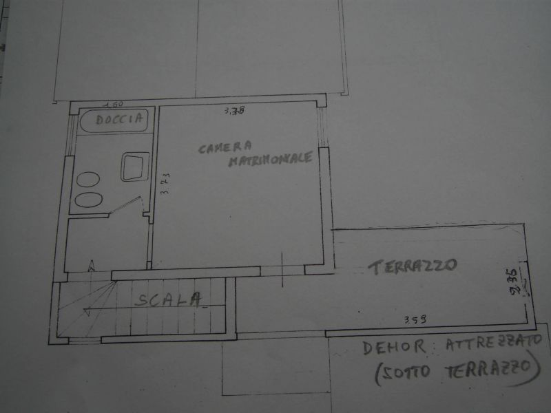 Property map Location Self-catering property 80842 Dolcedo
