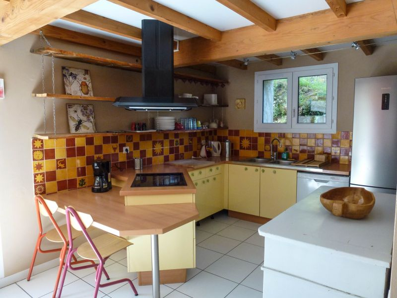 Open-plan kitchen Location Self-catering property 88967 Auriol
