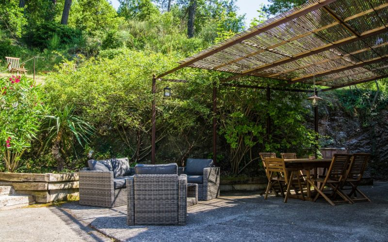 Terrace Location Self-catering property 88967 Auriol