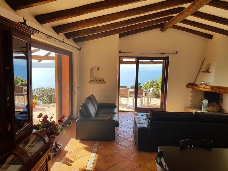 Living room Location Villa 90063 Santa Teresa di Gallura