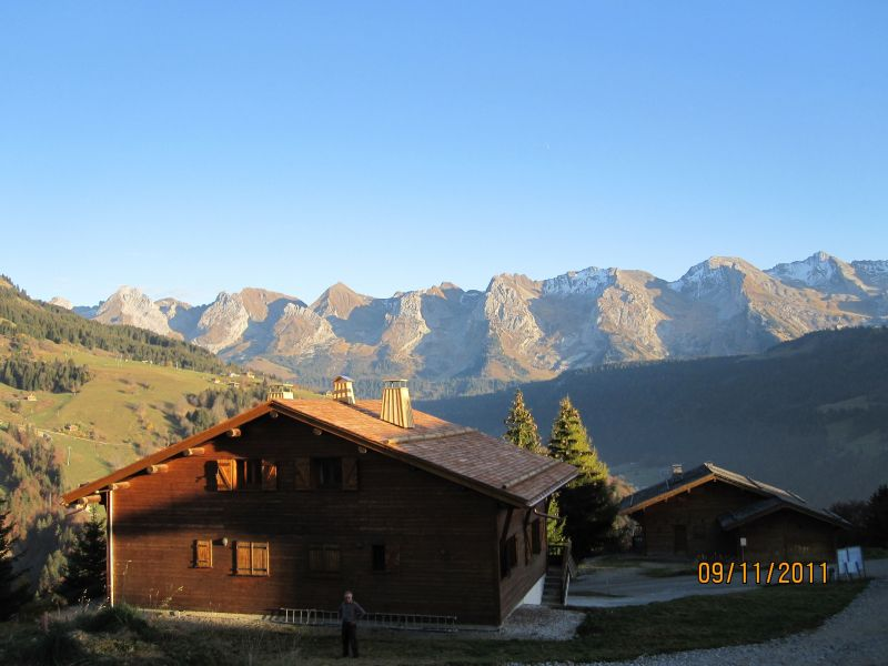 View from the property Location Chalet 116902 Le Grand Bornand
