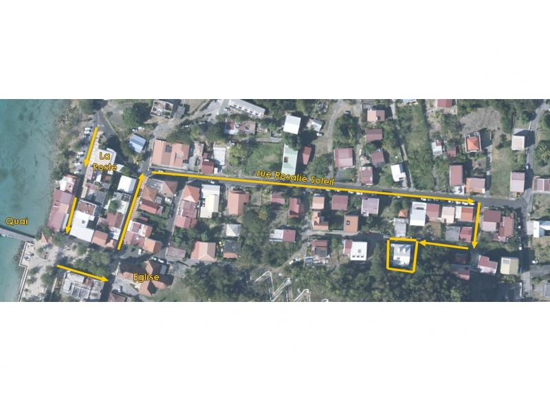 Area map Location Apartment 67787 Sainte Anne (Martinique)
