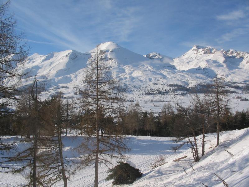 View from terrace Location Chalet 69489 La joue du Loup