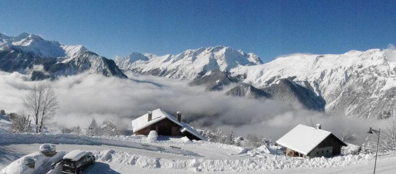 View from terrace Location Apartment 76417 Alpe d'Huez