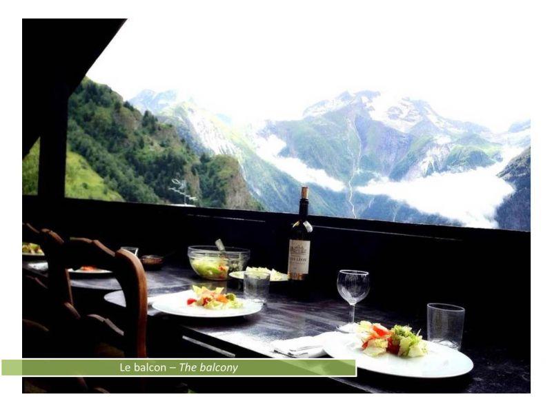 Loggia Location Apartment 80322 Les 2 Alpes
