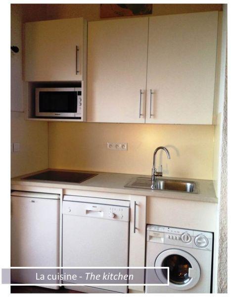 Open-plan kitchen Location Apartment 80322 Les 2 Alpes