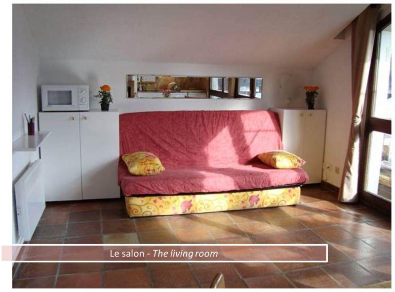 Sitting room Location Apartment 80322 Les 2 Alpes