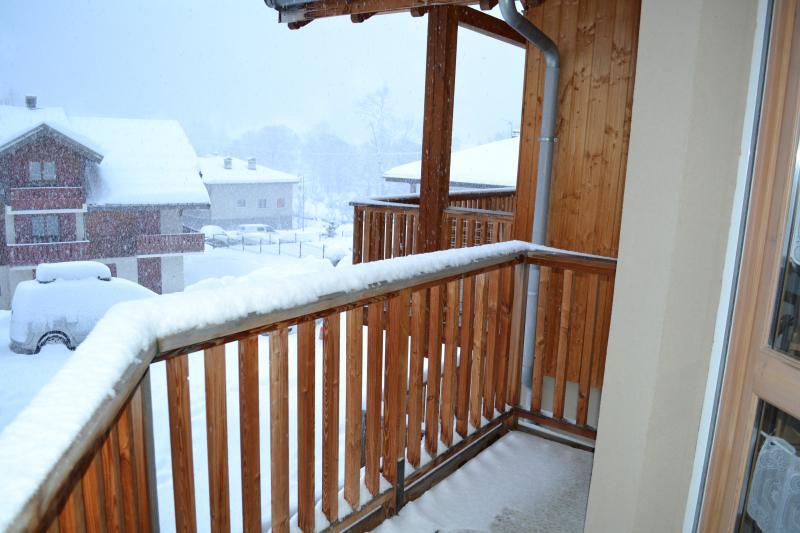 Balcony Location Apartment 82534 Valloire