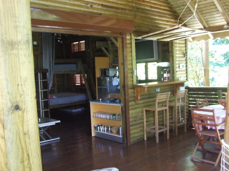 Terrace Location Tree-house 83872 Bouillante