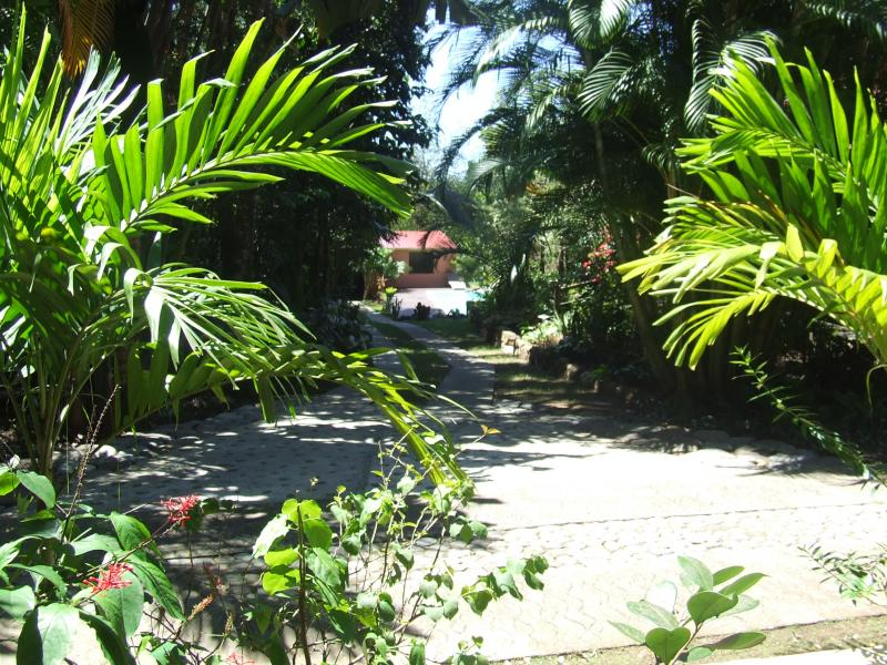 Garden Location Tree-house 83872 Bouillante