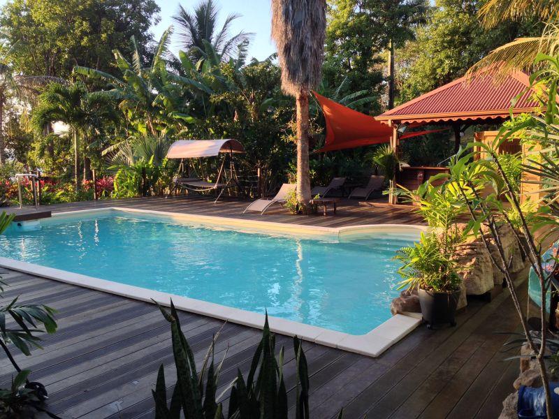 Swimming pool Location Tree-house 83872 Bouillante