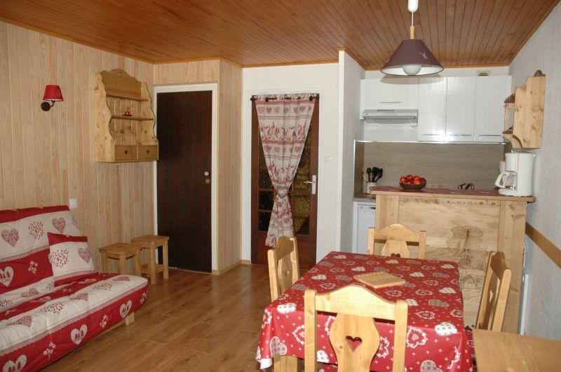 Sitting room Location Studio apartment 91147 Les 2 Alpes