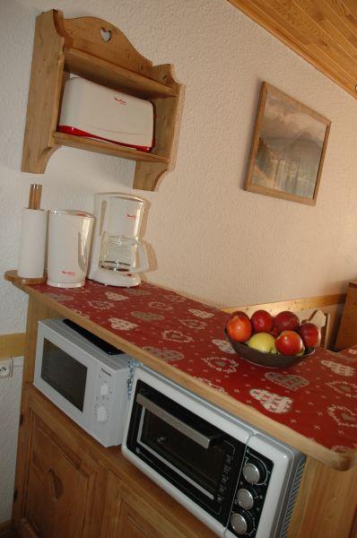 Kitchenette Location Studio apartment 91147 Les 2 Alpes