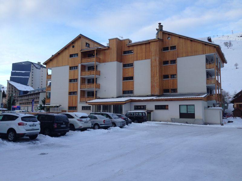 Parking Location Studio apartment 91147 Les 2 Alpes