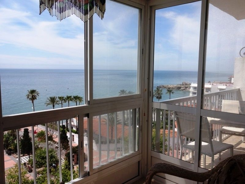 View from the balcony Location Apartment 11482 Nerja