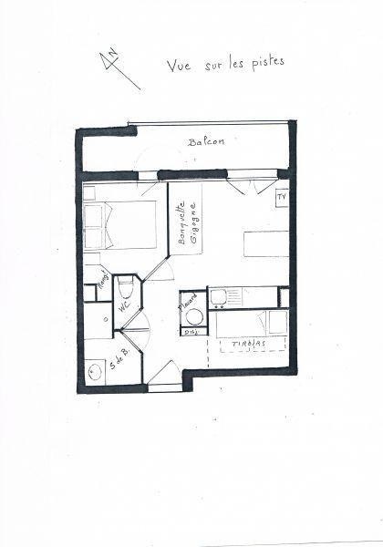 Property map Location Apartment 1171 Les 2 Alpes