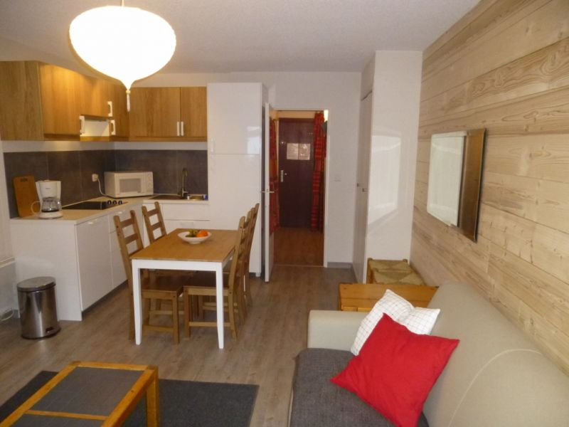 Kitchenette Location Studio apartment 1201 Les 2 Alpes