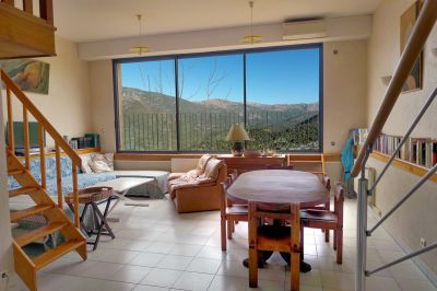 Living room Location Apartment 12013 Ste Lucie de Tallano