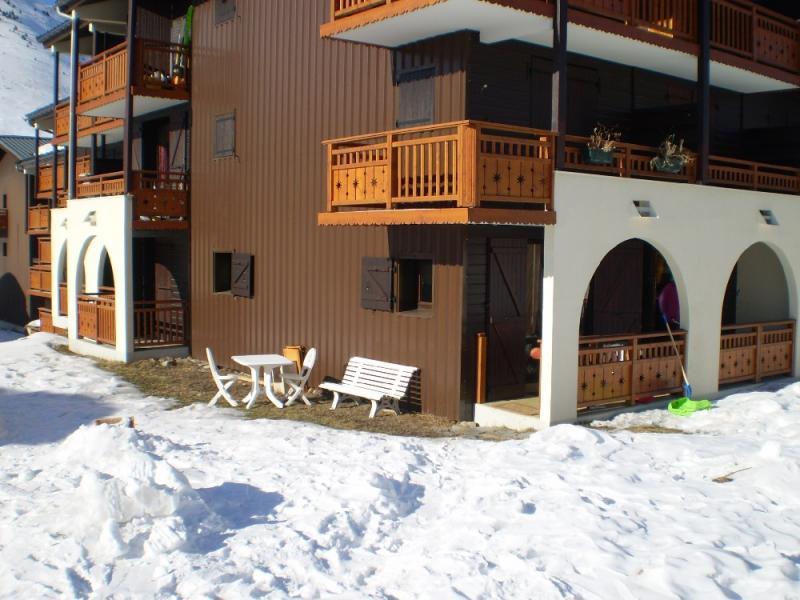 Garden Location Apartment 1242 Les 2 Alpes