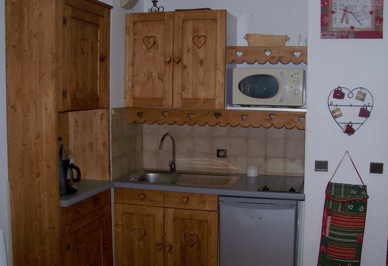 Kitchenette Location Apartment 1242 Les 2 Alpes