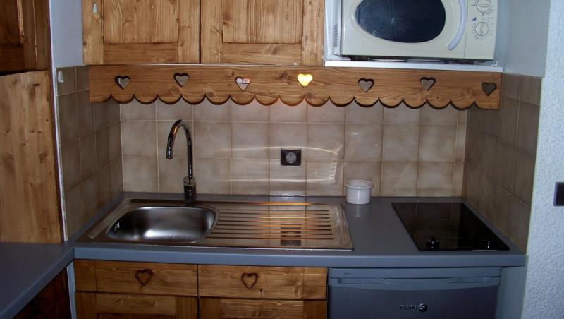 Kitchenette Location Apartment 1242 Les 2 Alpes