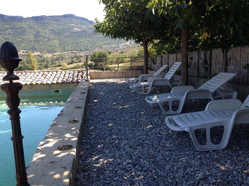 Swimming pool Location Self-catering property 12573 Nyons