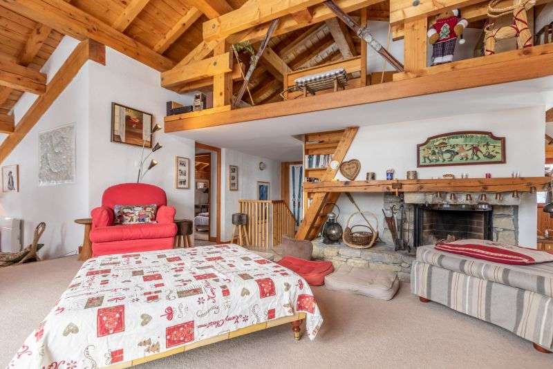 Sitting room Location Chalet 136 Les Arcs