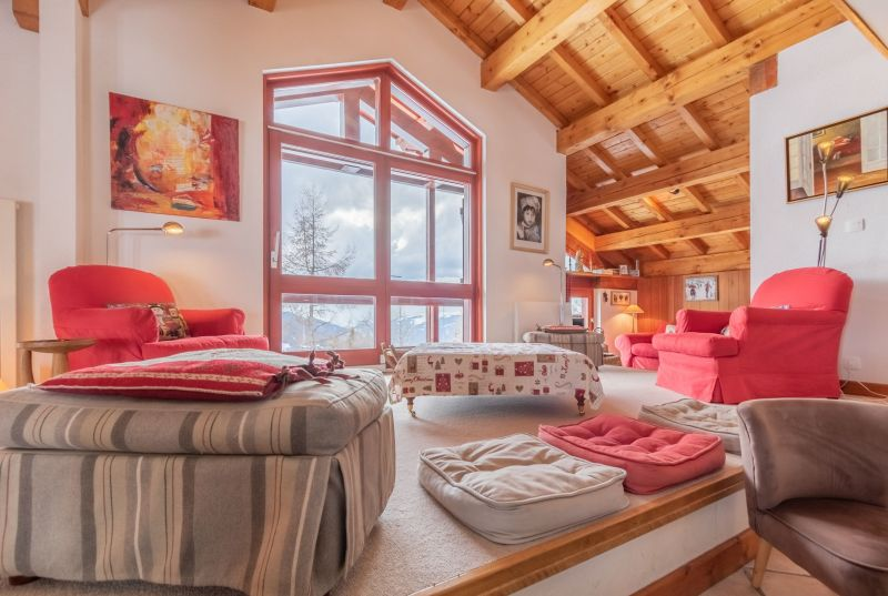 Sitting room Location Chalet 136 Les Arcs