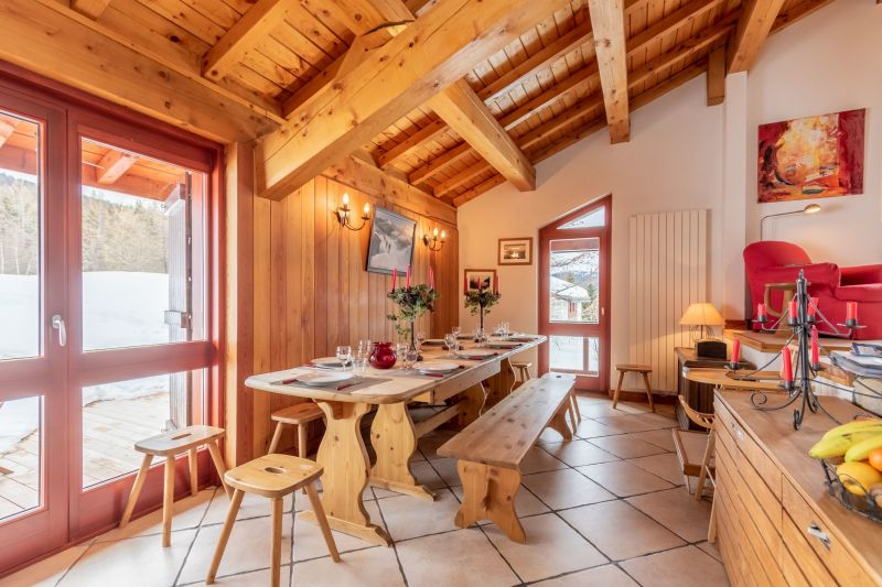 Dining room Location Chalet 136 Les Arcs