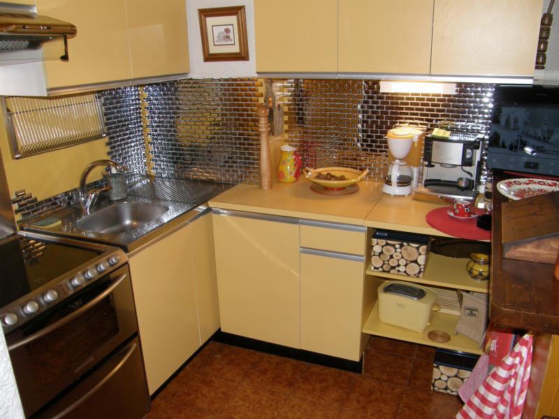 Summer kitchen Location Apartment 1360 Le Grand Bornand