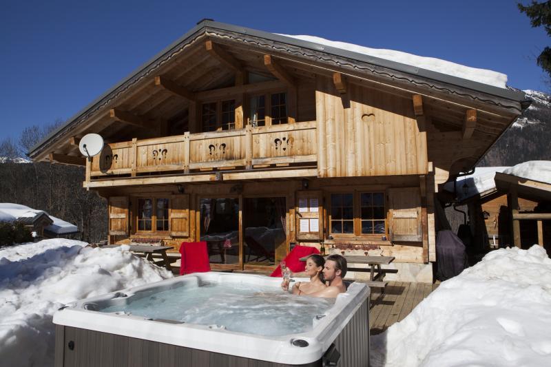 Outside view Location Chalet 1412 Chamonix Mont-Blanc