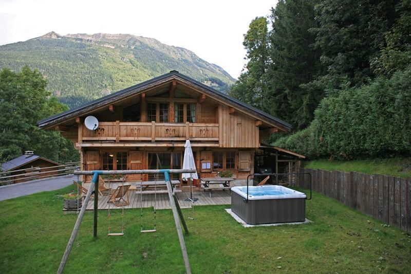 Garden Location Chalet 1412 Chamonix Mont-Blanc