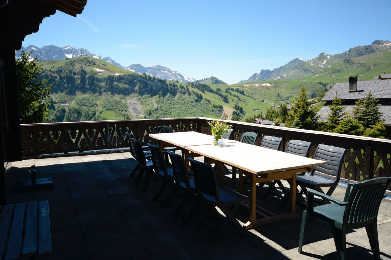 Terrace 2 Location Chalet 14794 Les Crosets