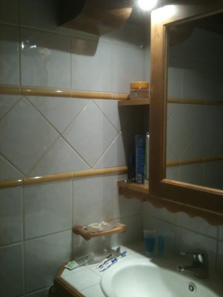 bathroom Location Apartment 148 Les Arcs