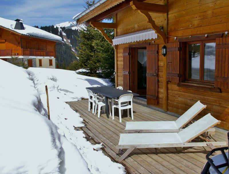 View from terrace Location Chalet 14859 Praz de Lys Sommand