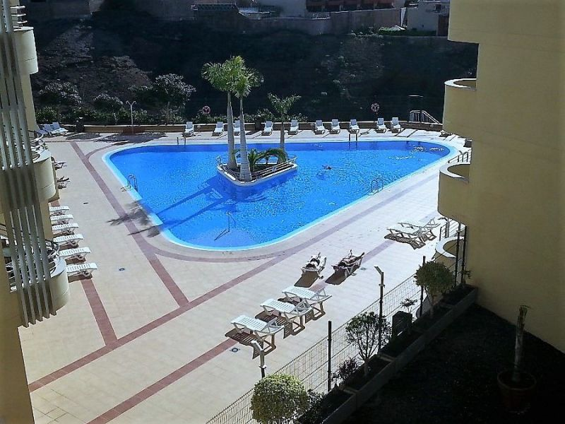 Swimming pool Location Apartment 15419 Adeje