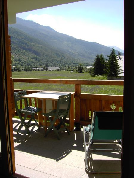 View from terrace Location Apartment 15851 Serre Chevalier