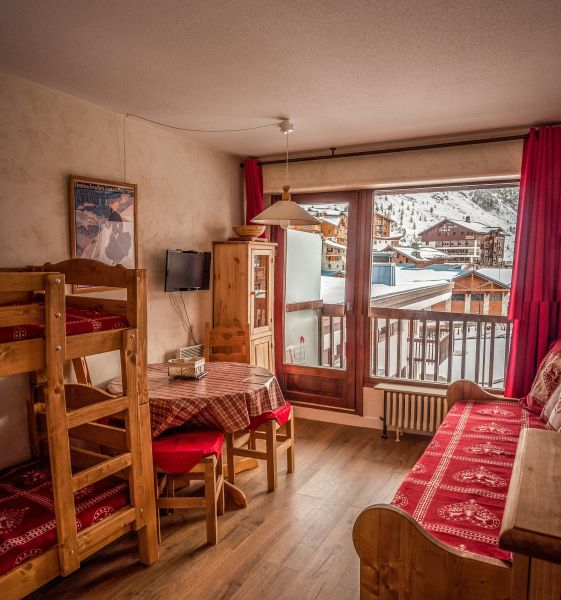 Living room Location Studio apartment 16043 Tignes