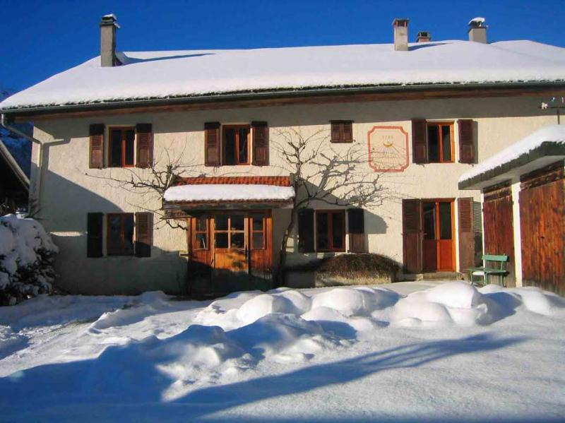 Outside view Location House 16107 Les Contamines Montjoie