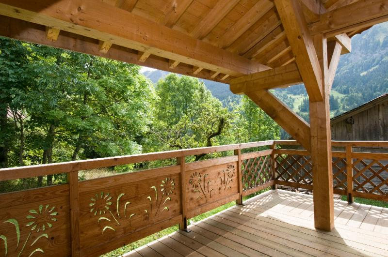 Balcony Location Chalet 16141 Châtel