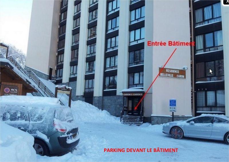 Parking Location Studio apartment 1615 Les Menuires