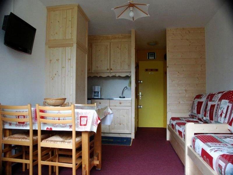 Hall Location Studio apartment 1615 Les Menuires